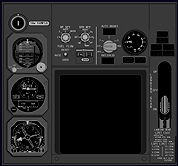 B737 NG Center Forward Panel