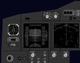 B737 NG Left Forward Panel Captain