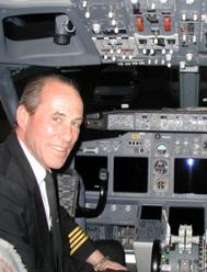 Captain Werner Hamp       Continental Airlines      Retirement Flight  February 26, 2005